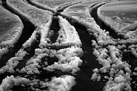 元旦からの積雪にパニック
