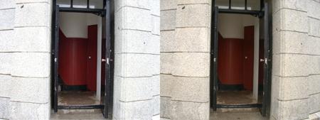 灯台入り口