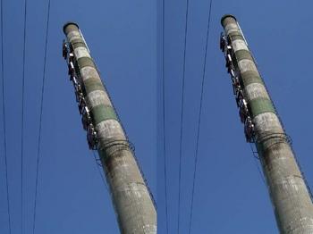 stereo/chimney