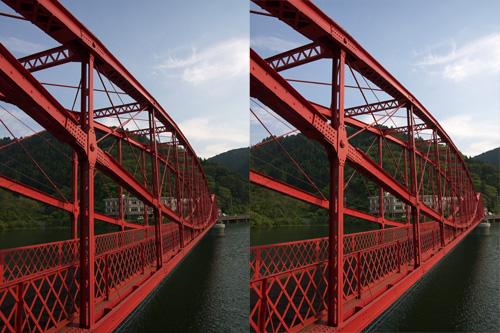 ステレオ歴史探訪(9) 河内貯水池(前編) 南河内橋